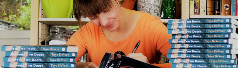 Taya DeVere Signing books